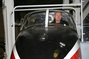 Pilot Danny at the ready