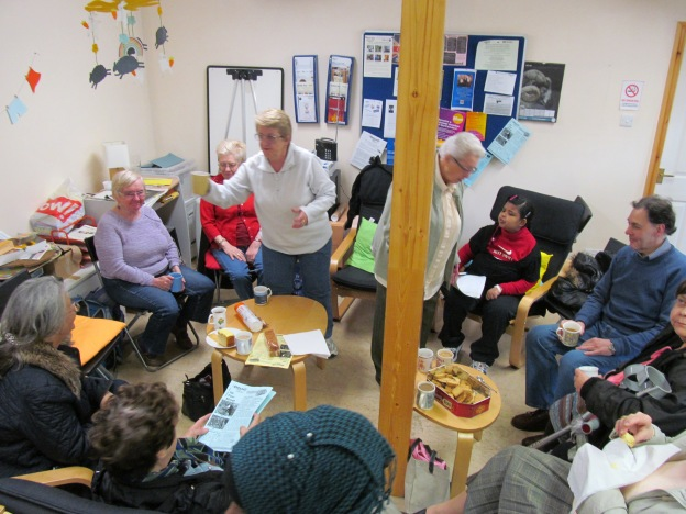 Another busy coffee morning