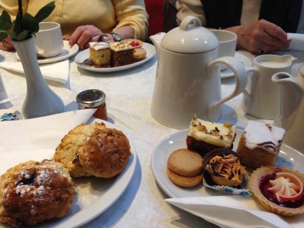 Cream Tea at the Tiptree Tea Rooms