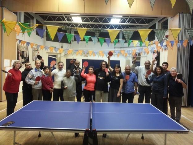 Table tennis xmas tournament
